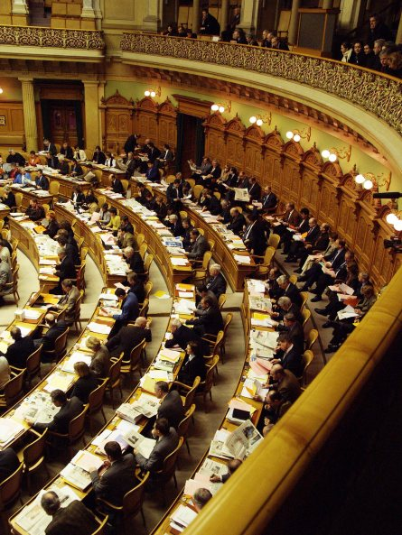 Swiss_Federal_Assembly_session,_with_spectators_gallery
